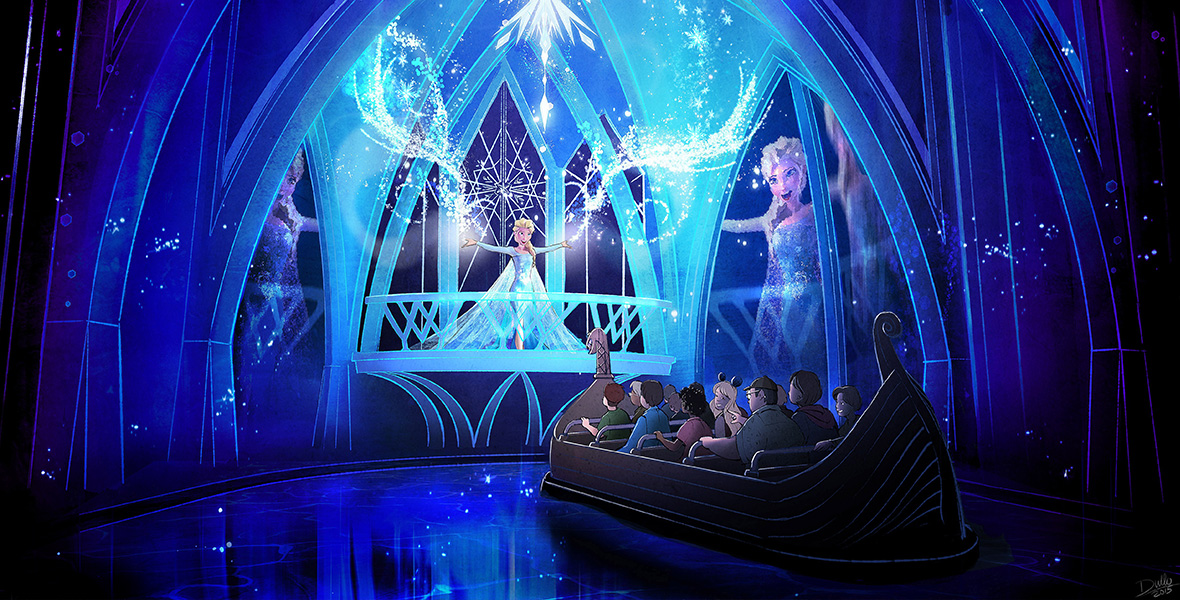 Frozen Ever After Concept