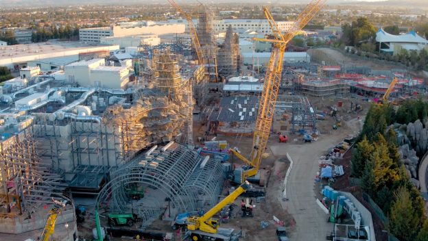 Star Wars Land Construction